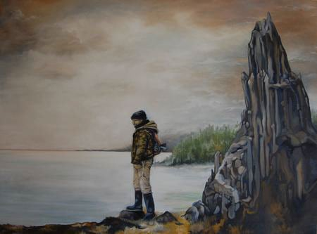 Helms - Alaska, Oil on Canvas, 30x40_, $425
