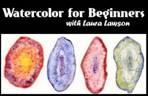 Workshop: Watercolor for Beginners @ Blue House Too | Allen | Texas | United States