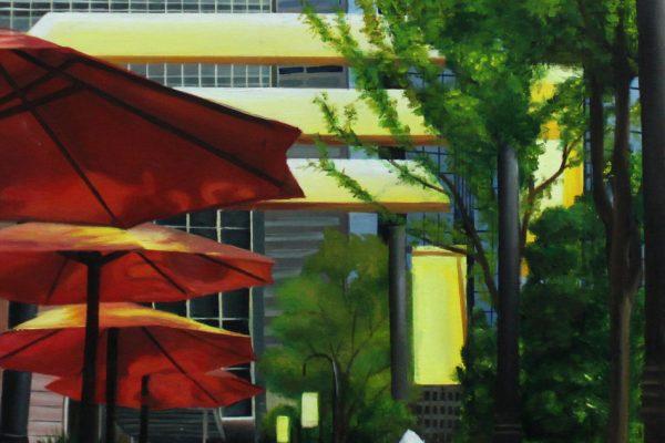 Xinyue Shi - Red Umbrellas