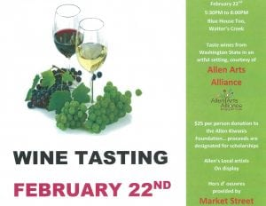 Kiwanis Wine Tasting @ Blue House Too | Allen | Texas | United States