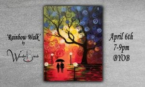 First Friday Paint and Sip! @ Blue House Too | Allen | Texas | United States