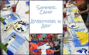 Summer Camp: Adventures in Art @ Blue House Too | Allen | Texas | United States