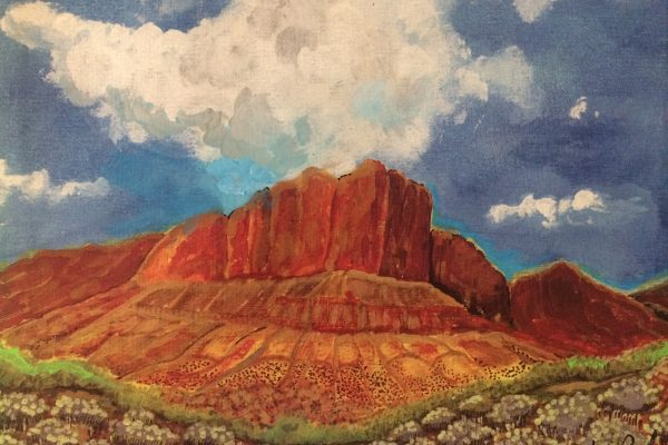 Chisos Mountains in the Big Bend