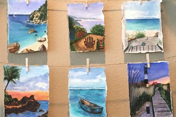 Watercolor Seasides